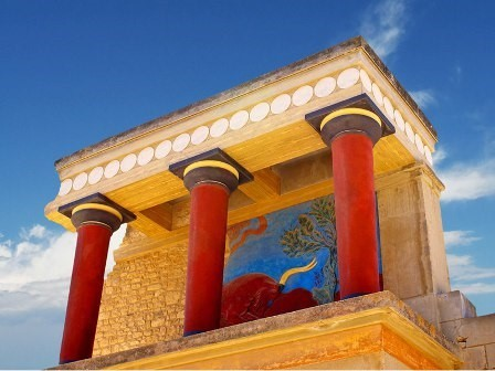 knossos crète site antique excursion